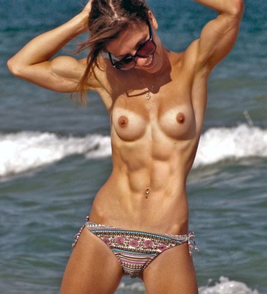 Fitness Topless photo 9