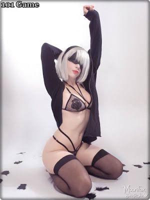 Katyuska Moonfox 2b Cosplay photo 17
