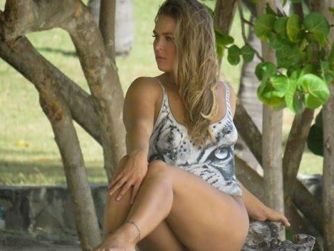 Ronda Rousey Thong Slip photo 1