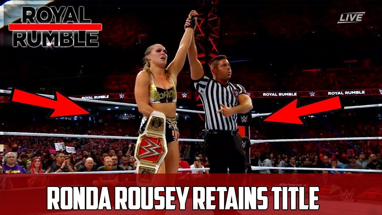 Ronda Rousey Thong Slip photo 28