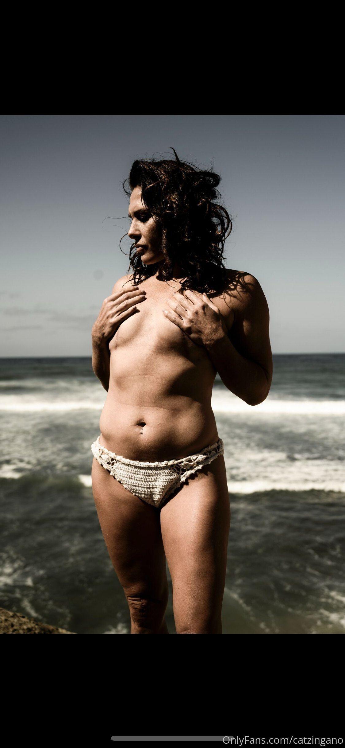 Cat Zingano Topless photo 2