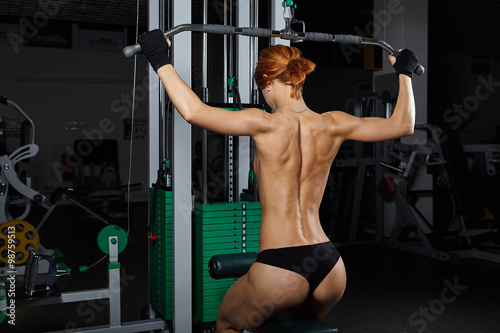 Fitness Topless photo 14