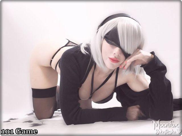 Katyuska Moonfox 2b Cosplay photo 26