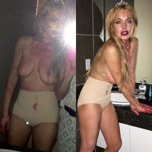 Lindsay Lohan Leaked Pictures photo 17