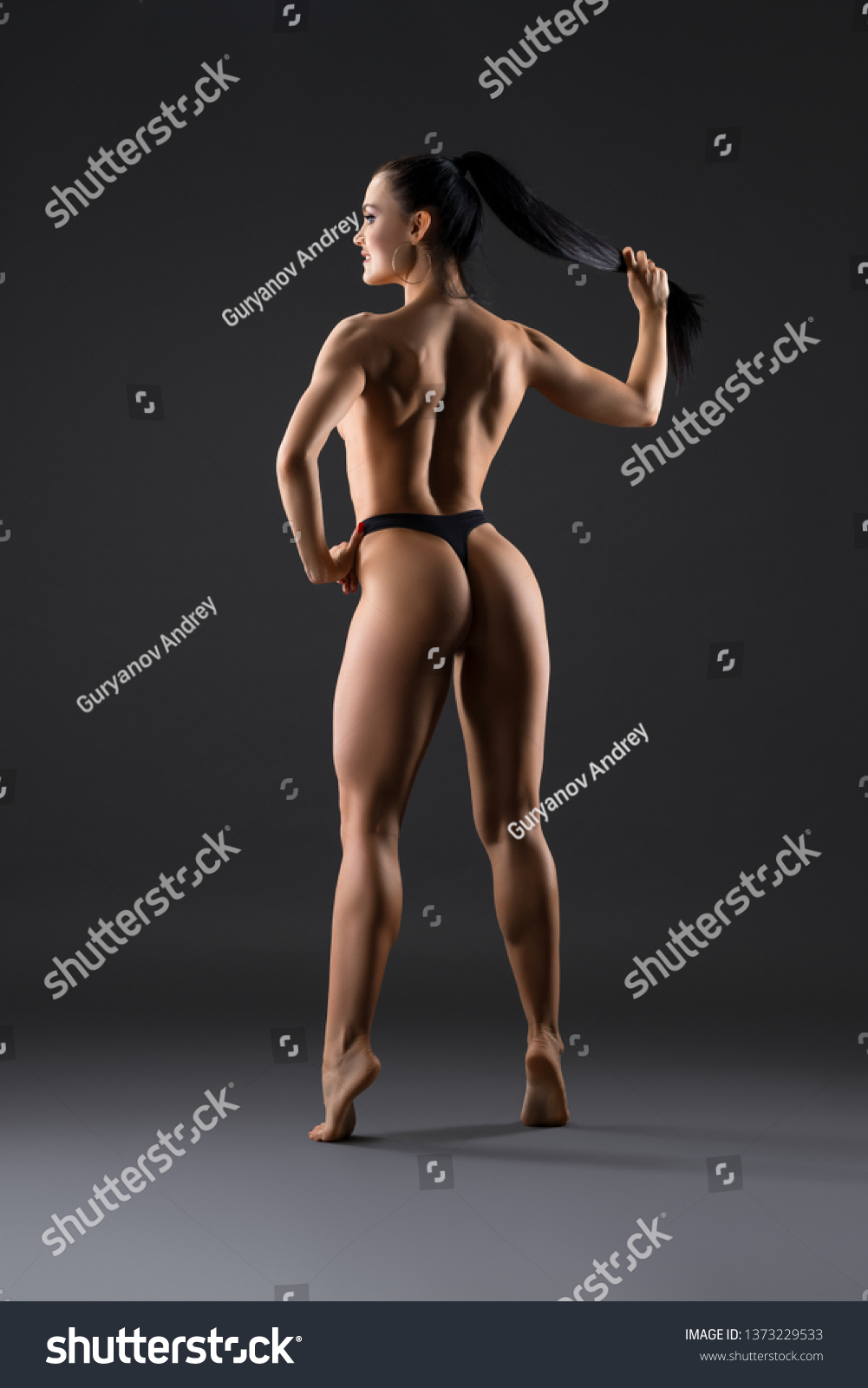 Fitness Topless photo 12