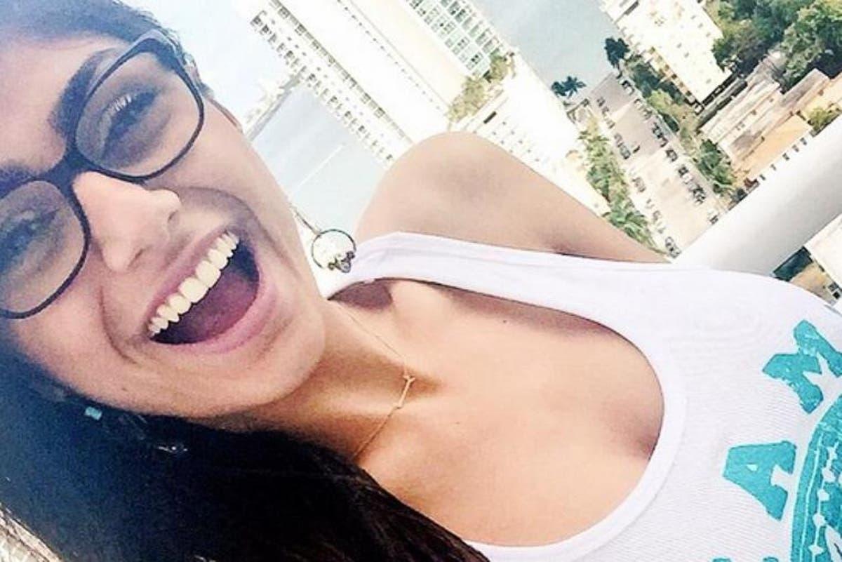 Mia Khalifas Snapchat photo 2