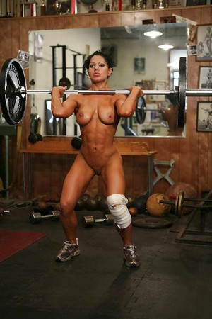 Fitness Topless photo 28